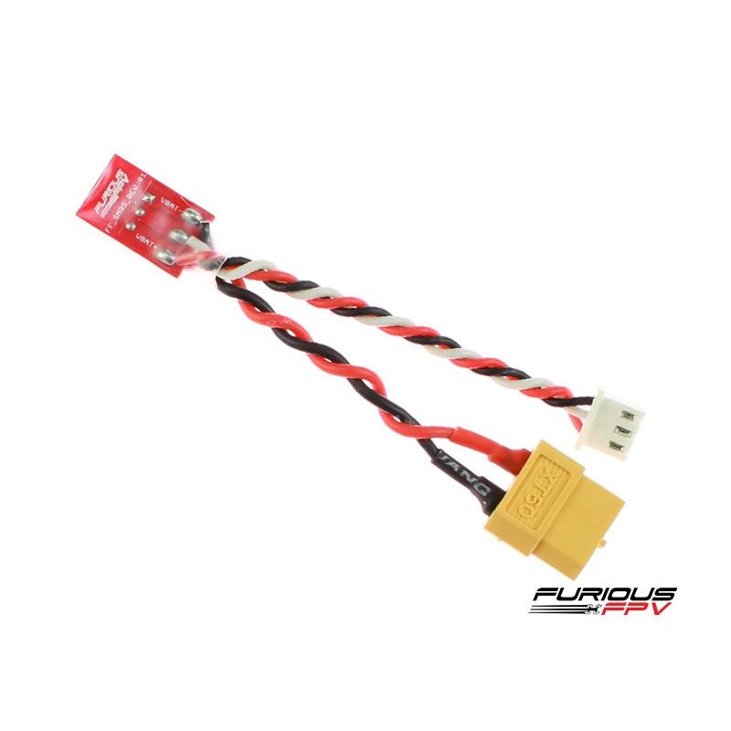 FuriousFPV Câble adaptateur XT60 femelle pour Smart Power Case
