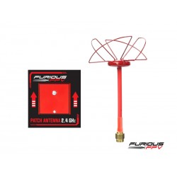 Furious FPV Antenne Circulaire RHCP + Antenne Patch 2.4 GHz SMA