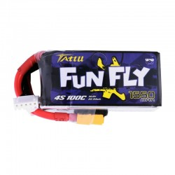 Tattu FunFly Lipo Battery 4S 1550mAh 100C