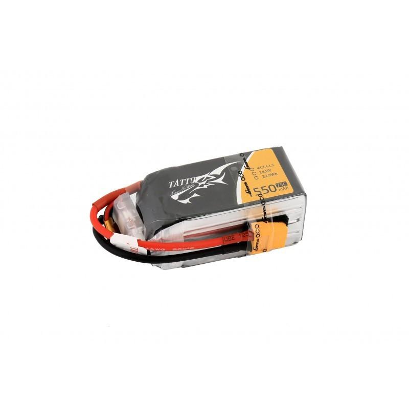 Batterie Lipo Tattu 4S 1550mAh 75C