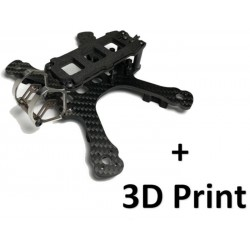 "Pack Frame Gecko 3"" by Armattan + 3D Print"