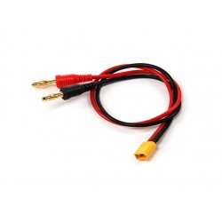 Charge Leads XT30 male /4mm banana plug