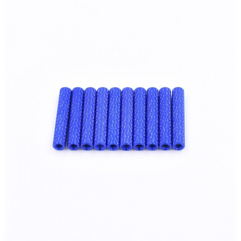 Entretoises texturée 28mm x M3  (10pces)