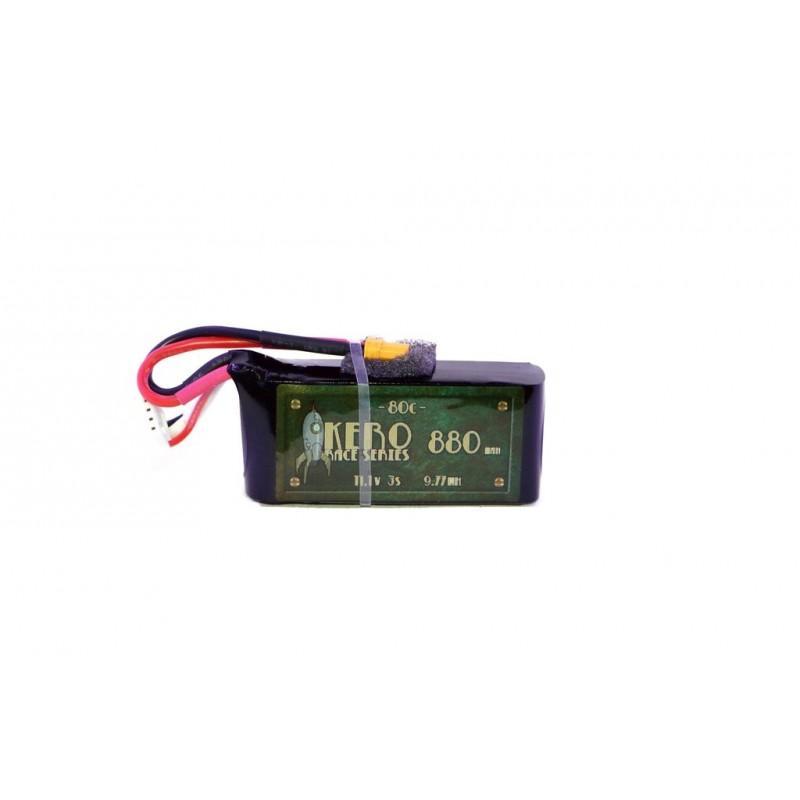 KERO 3S 880mah 80C Race Grade Lipo Battery