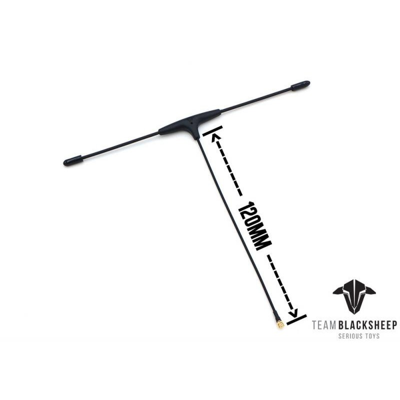 Antenne Immortal T V2 Extended pour micro-récepteur TBS Crossfire