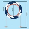 LESA Ring200 Air Gate - 200cm