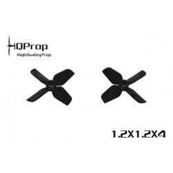 HQProp 1.2x1.2x4 - ABS (2x CW + 2xCCW)
