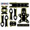 Stickers for Reverb frame - Blaster