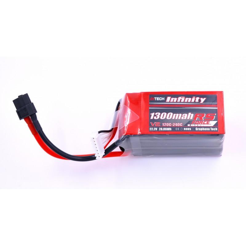 Infinity 1300mAh 22.2V 120C 6S RS Force Edition