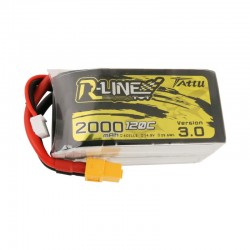 Batterie Lipo Tattu R-Line 4S 2000mAh 120C - Version 3.0