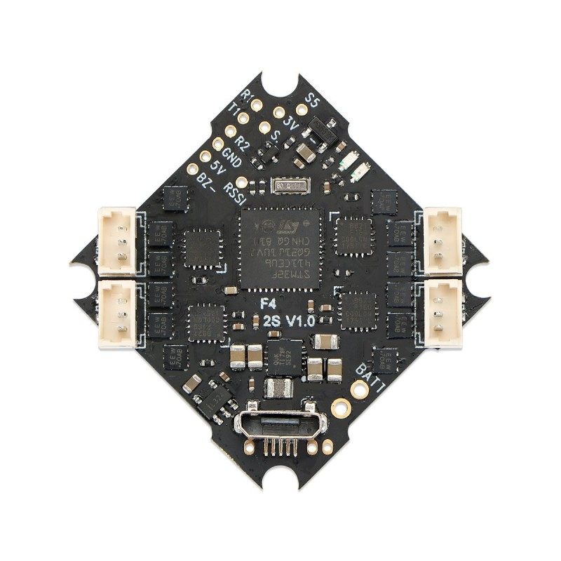Betafpv F4 AIO 2S Brushless Flight Controller (no Rx)