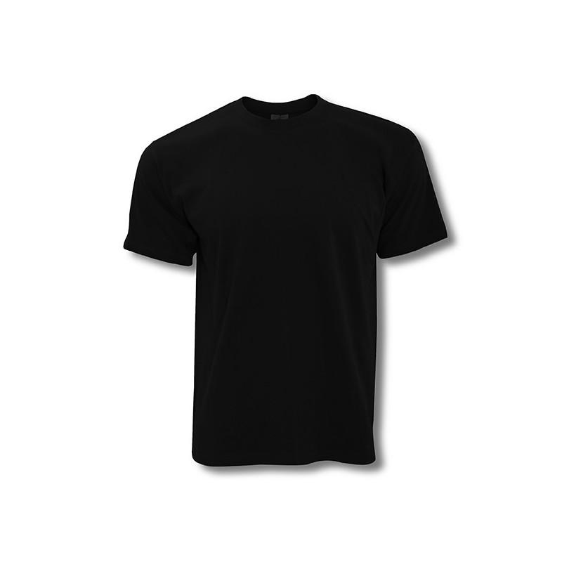 T-Shirt Noir Exact 190 ***choix Taille***