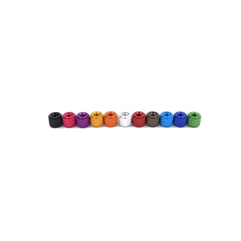 5mm Anodized Stack Spacers - 10pcs