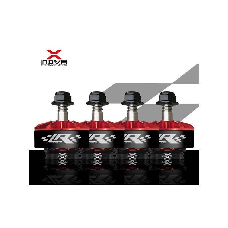 X-NOVA LITE RACING 2207-1800KV (Boite de 4)