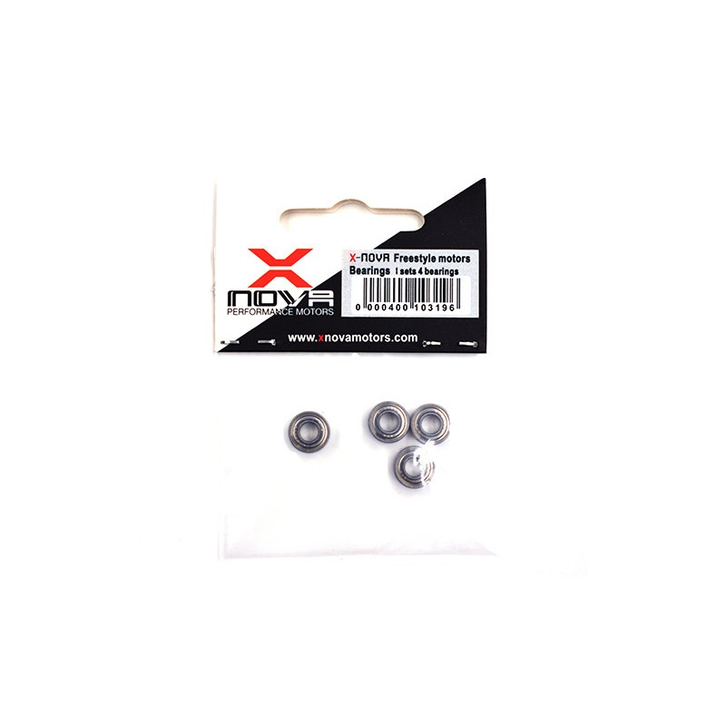 XNOVA Freestyle Motors Bearings (4pces)