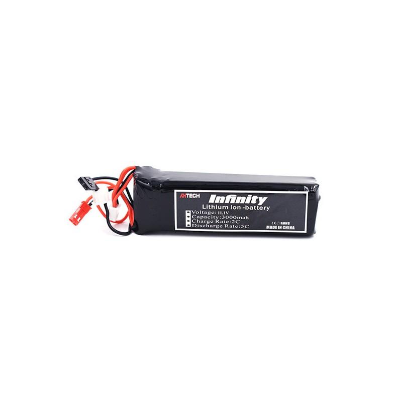 Batterie Lipo Infinity 3S 3000mAh pour Taranis X9D
