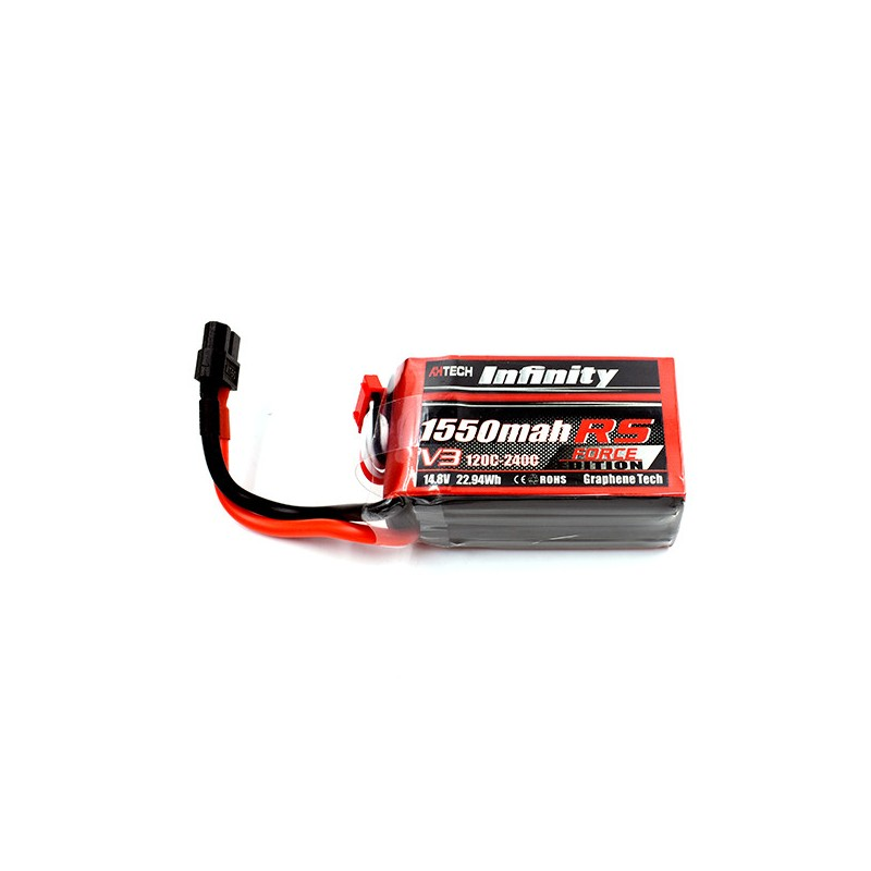 Infinity 1550mAh 14.8V 120C 4S RS Force Edition V3