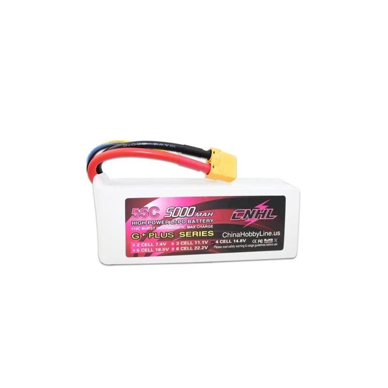 CNHL - 5000mAh 4S 55C G+Plus