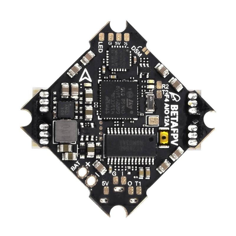 Betafpv F4 AIO 2-4S Brushless Flight Controller - 12A
