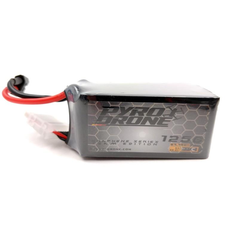 Pyro-Drone Graphene 1250mAh 6S 75C