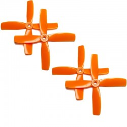Hélices Quadripales HQProp 4x4x4 renforcées fibres (4 pces) -2x CW + 2xCCW