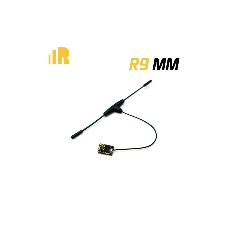 FrSky R9MM + T Pattern Dipole Antenna Long Range Receiver