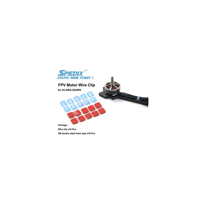 Clip pour câble moteurs (10pcs)