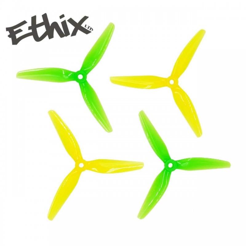 HQProp ETHIX S4 5X3.7X3 - PC (2x CW + 2xCCW)