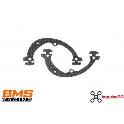 BMS Racing JS-1 Cage Plate CF 1.5mm (2 Pack)