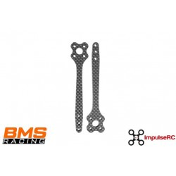 """BMS Racing JS-1 5"""" Arms CF 5mm (2 pack)"""