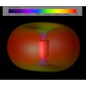 Antenne TrueRC Singularity 5.8GHz Stubby - LHCP