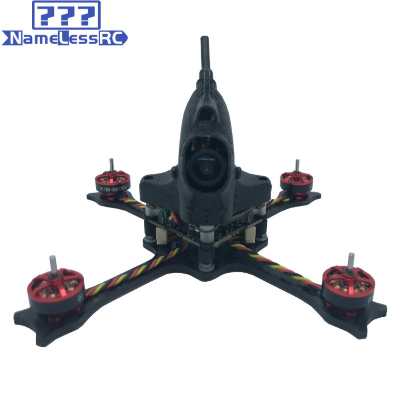 "NameLessRC N47 HD 65mm 2.5"" FPV Racing Drone - BNF FRSKY"