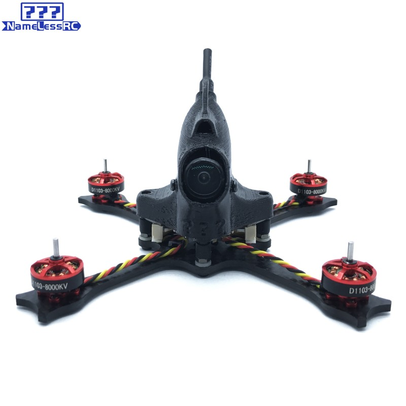 "NameLessRC N47 65mm 2.5"" FPV Racing Drone - BNF FRSKY"