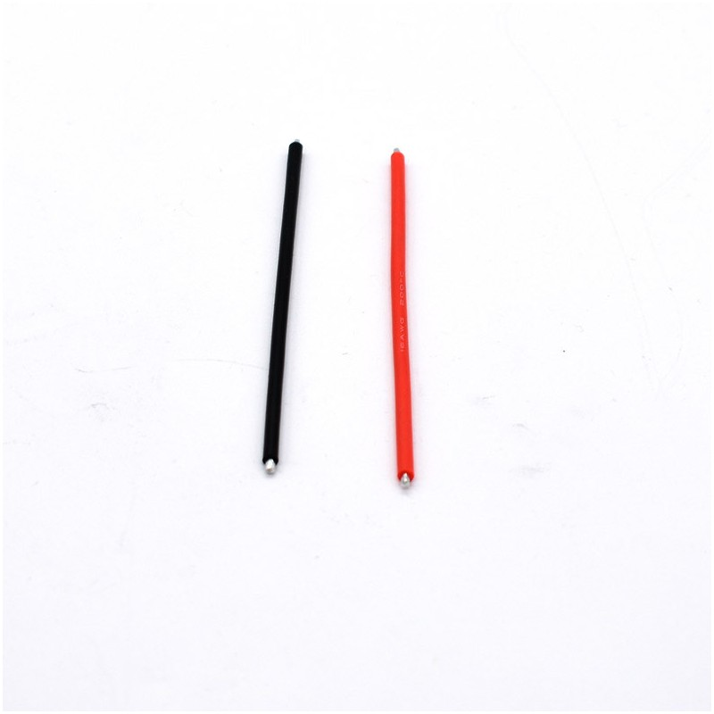 16 AWG silicone cable - 10cm