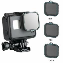 Telesin ND4/8/16 Lens Filter for GoPro Hero 5 6 7 Black
