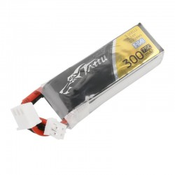 Tattu 2S 300mAh 75C Lipo Battery - JST-PH