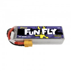 Tattu FunFly Lipo Battery 4S 1800mAh 100C