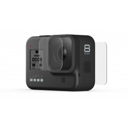 Tempered Glass Lens + Screen Protectors for GoPro HERO 8 Black
