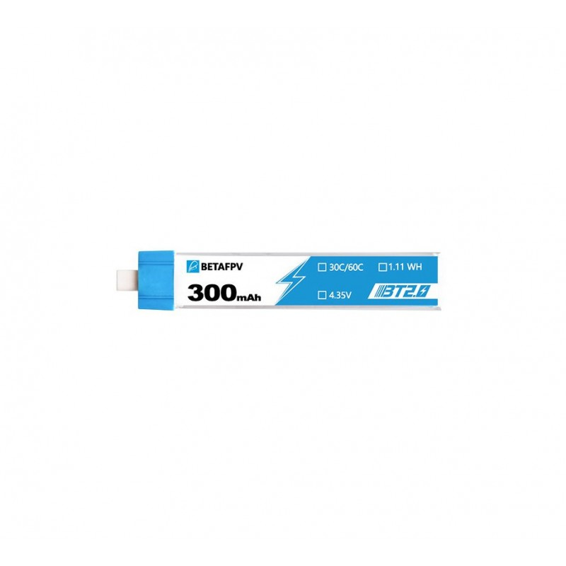 BETAFPV BT2.0 300mAh 1S 30C Battery