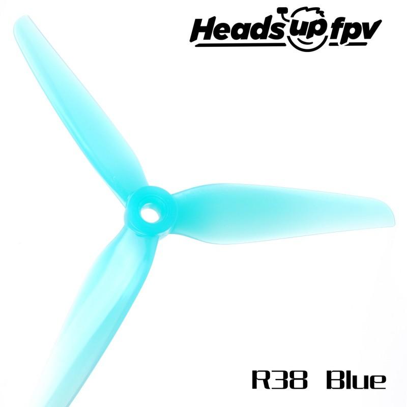 HQProp R38 HeadsUp Racing (4 pces) -2x CW + 2xCCW