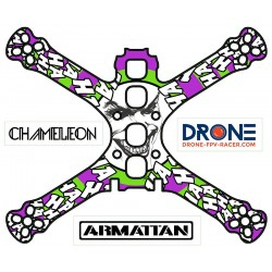 "Stickers for Chameleon Ti 5"" frame"
