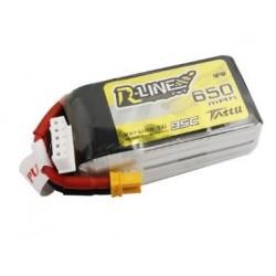 Batterie Lipo Tattu R-Line 4S 650mAh 95C (XT30)