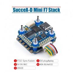 Iflight SucceX-D Mini F7 TwinG Stack (Mini F7+40A ESC)