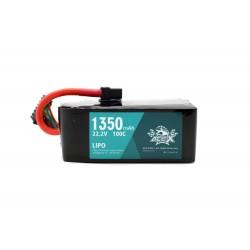 Acehe Ace-X 6S 1350mAh 100C Lipo Battery