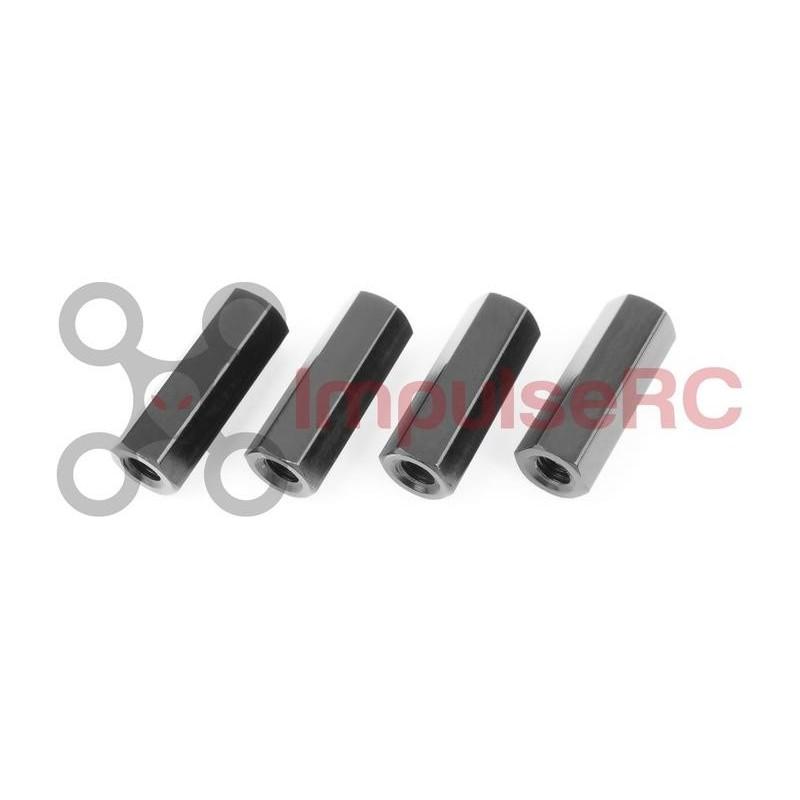 Standoff M3 Aluminium HEX 5MM X 20MM Black (4 Pack)