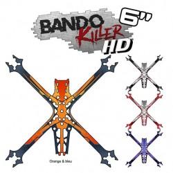 "Sticker pour Châssis Bando Killer HD 6"""