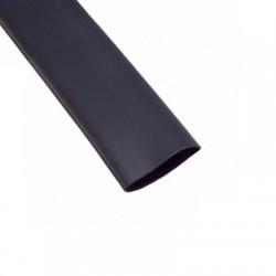 Gaine Thermorétractable 38mm noire