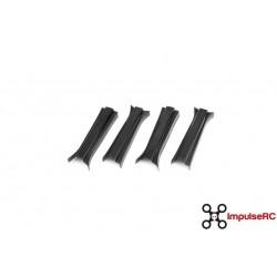 APEX ARM COVERS - BLACK - (4 PACK)
