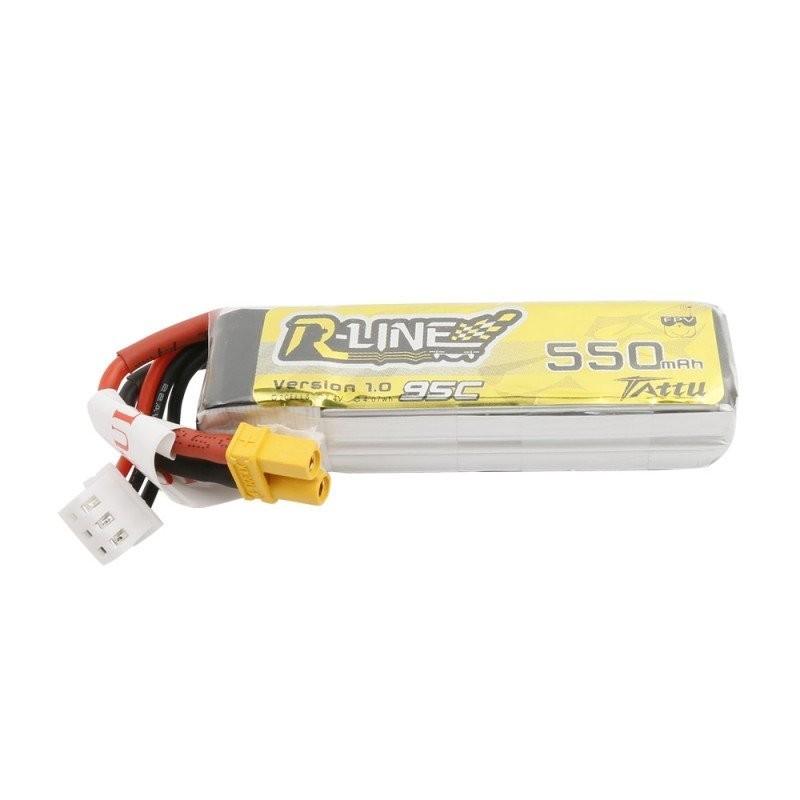 Lipo Battery Tattu R-Line 2S 550mAh - XT30