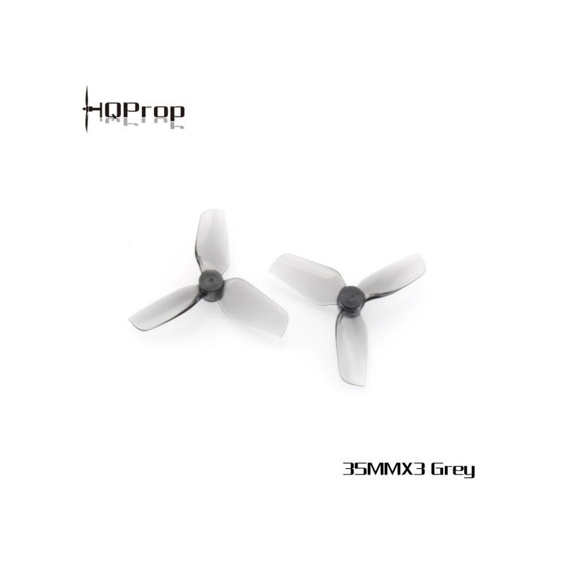 HQ Micro Whoop Prop 35MMX3 PC - 1mm Shaft (2CW+2CCW)